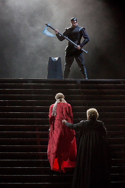 MET Opera: Maria Stuarda at Torch Theatre