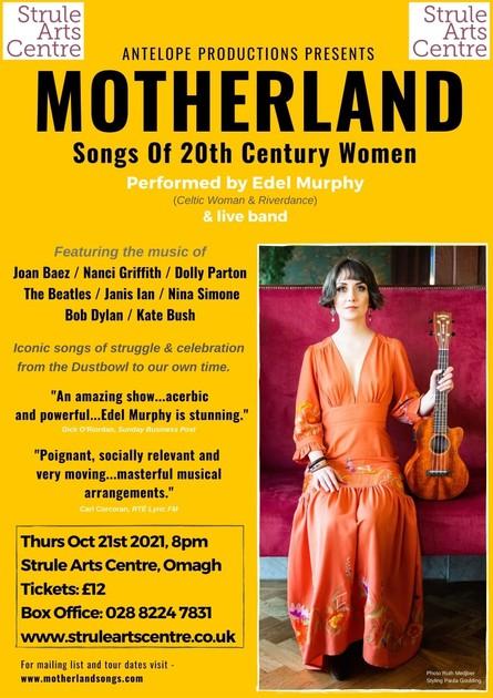 Motherland – Songs of 20th Century Women