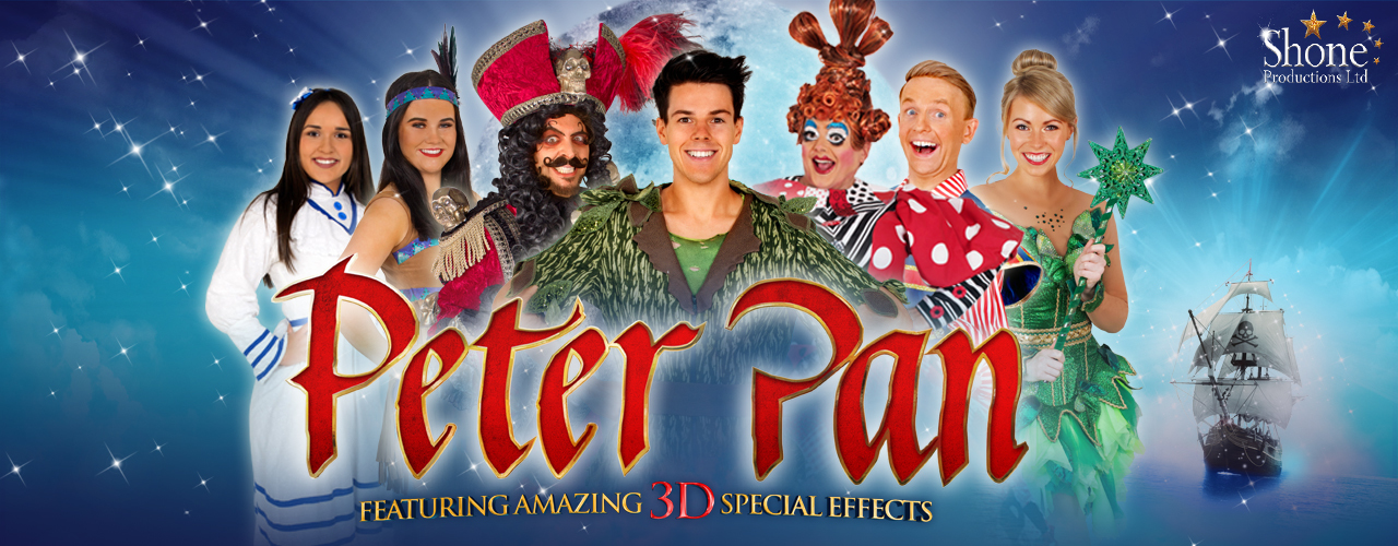 banner image for Peter Pan - A Swashbuckling Pantomime Adventure