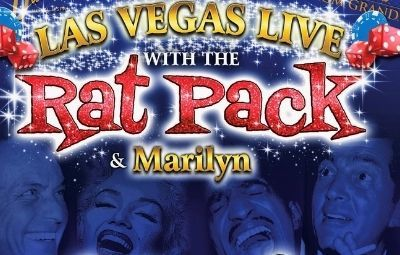 image of LAS VEGAS LIVE with THE RAT PACK & Marilyn