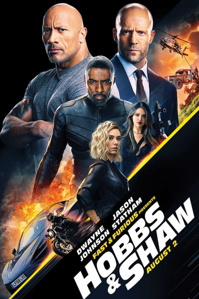 Fast & Furious Presents: Hobbs & Shaw SUBTITLED at Torch Theatre