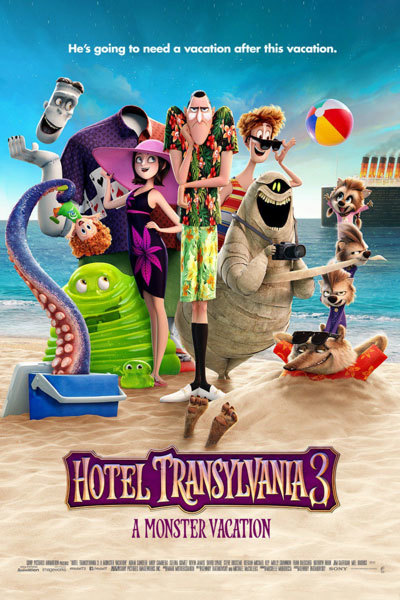 Hotel Transylvania 3: A Monster Vacation (U) at Torch Theatre