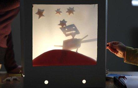 Halloween Shadow Puppet Studio Workshop 2018