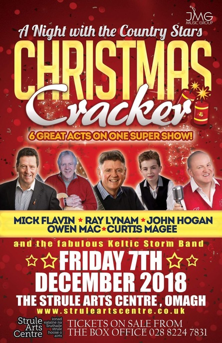 A Night with the Country Stars Christmas Cracker