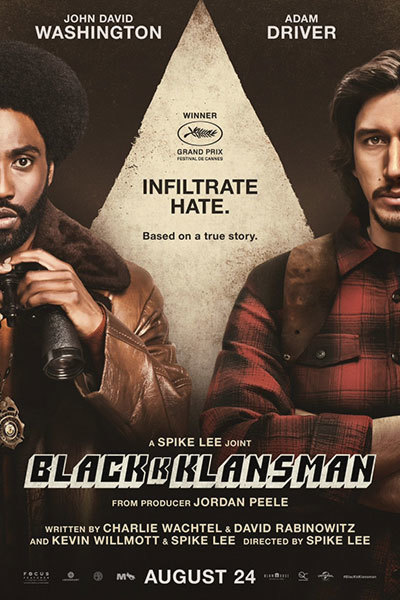 BlacKkKlansman (15) SUBTITLED at Torch Theatre