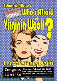 Who's Afraid Of Virgina Woolf? Poster