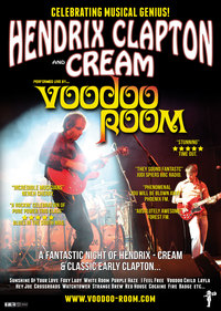 Hendrix, Clapton and Cream Poster