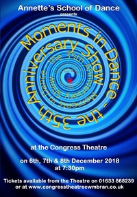 Moments in Dance - The 35th Anniversary Show Poster
