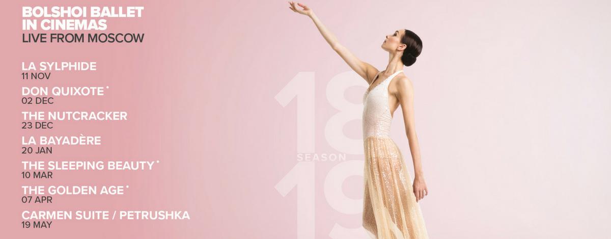 banner image for Bolshoi 18/19: Carmen Suite/Petrushka LIVE