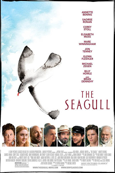 The Seagull (12A) at Torch Theatre
