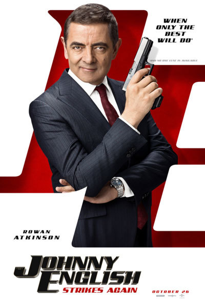 Johnny English Strikes Again (PG) at Torch Theatre
