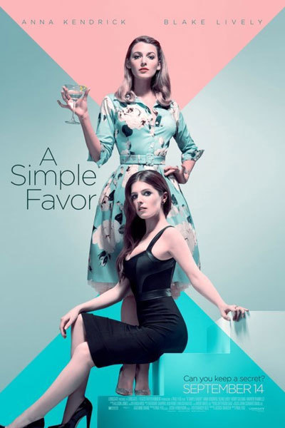 A Simple Favour (15) at Torch Theatre