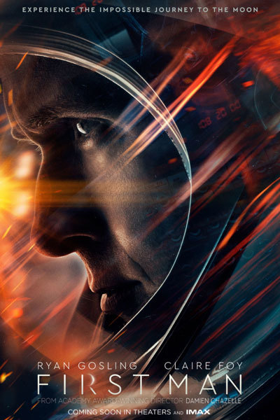 First Man (12A) at Torch Theatre