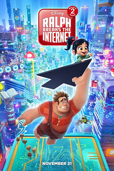 Ralph Breaks the Internet (PG) at Torch Theatre