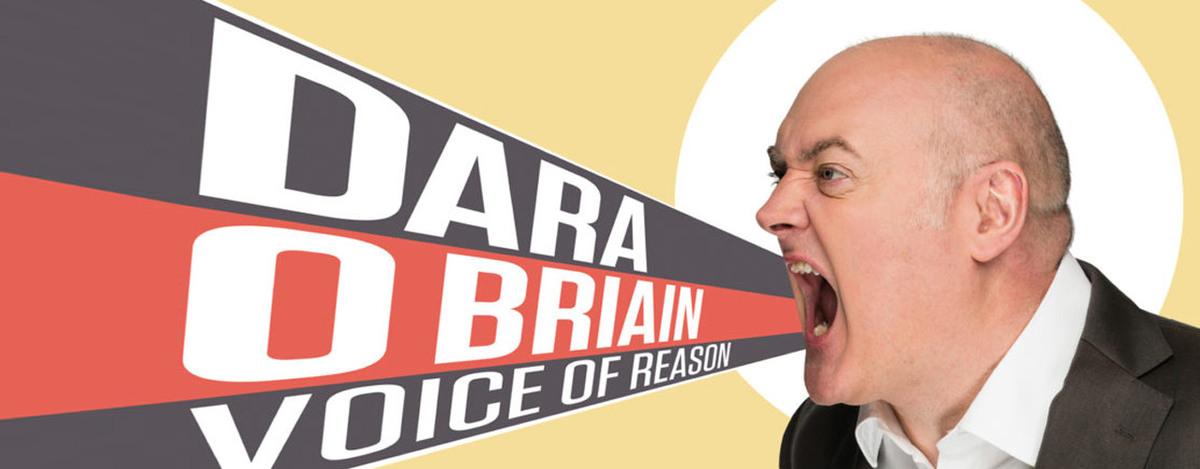 banner image for Dara O Briain: Voice of Reason