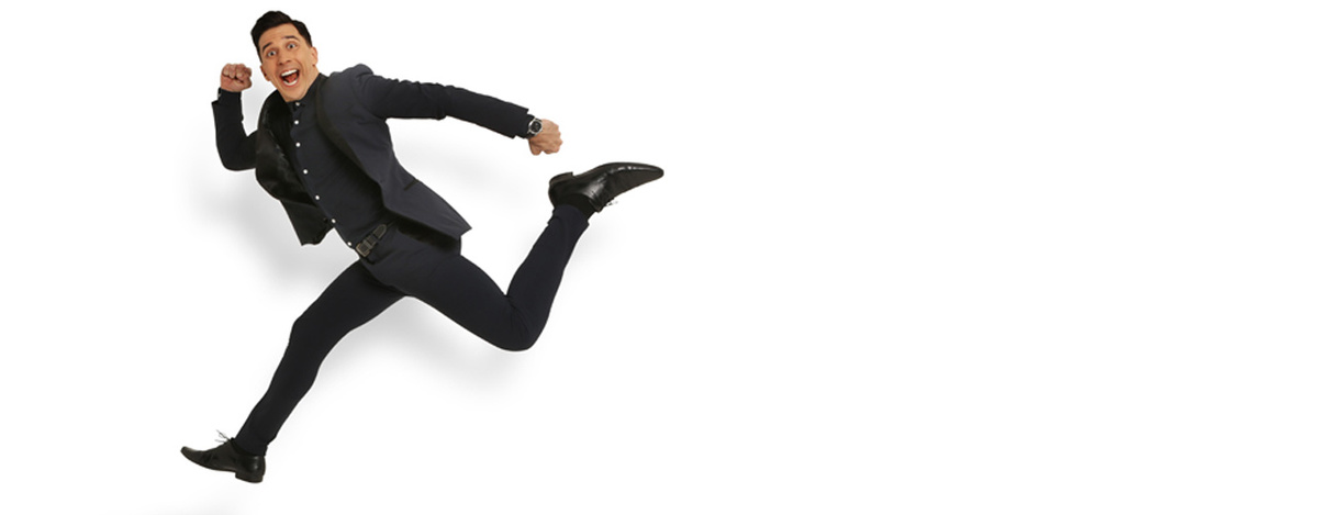 banner image for Russell Kane: The Fast and the Curious
