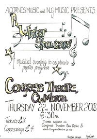 A Cornes Music and N G Music presents A Winter Showcase Poster