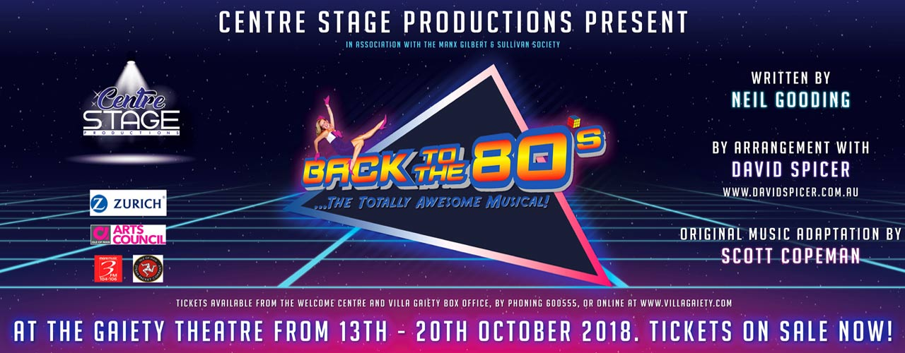 banner image for Back to the 80's