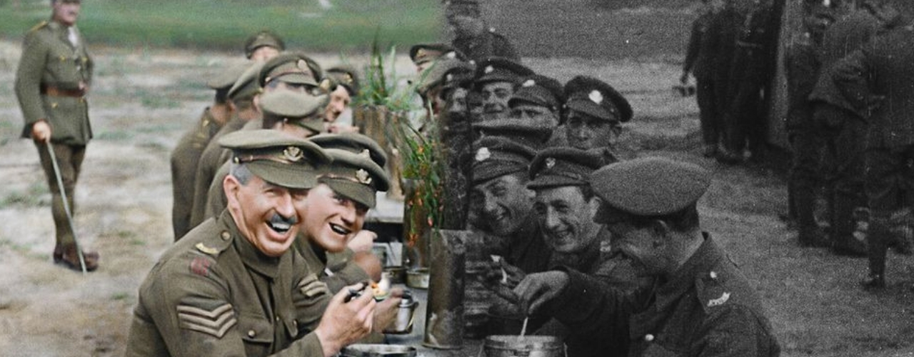 """banner image for Peter Jacksons """"They Shall Not Grow Old"""""""