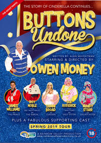 Buttons Undone Poster