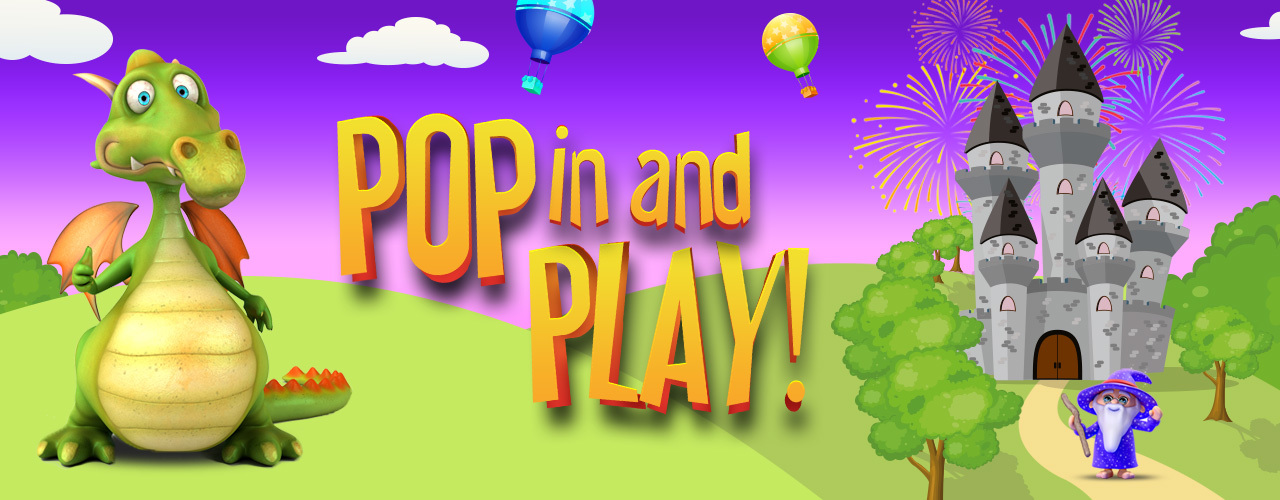 banner image for Pop-In and Play at Dragon's Castle