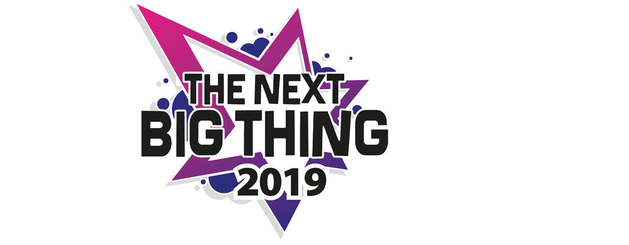banner image for The Next Big Thing 2019