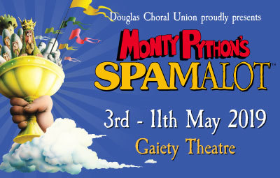 image of Monty Python's 'Spamalot'