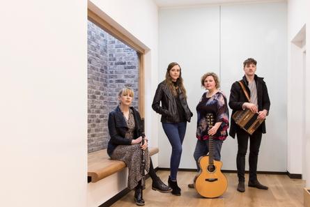 Droichead Arts Centre -            Muireann Nic Amhlaoibh, Siobhan Miller, Damien Mullane & Anna Massie