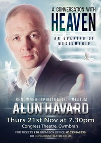 A Conversation with Heaven with Alun Havard Poster