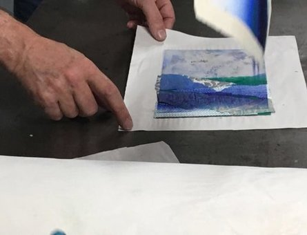 Printmaking with Fionnuala