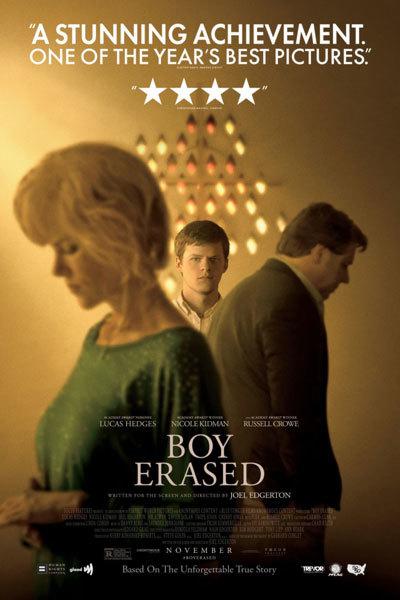 Boy Erased (15) at Torch Theatre