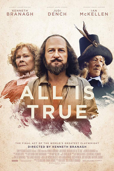 All Is True (12A) SUBTITLED at Torch Theatre