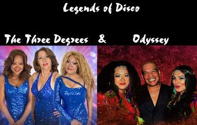 image of Legends of Disco - The Three Degrees & Odyssey