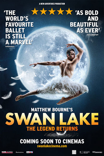 Matthew Bourne's Swan Lake at Torch Theatre