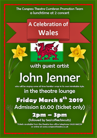 A Celebration of Wales with John Jenner Poster
