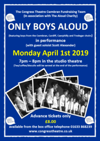 Only Boys Aloud Poster