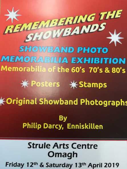 Remembering The Showbands Exhibition