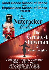 The Nutcracker Ballet/The Greatest Showman and other delights Poster