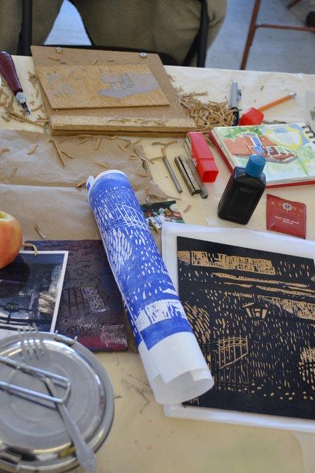 Artsland Masterclass in Printmaking