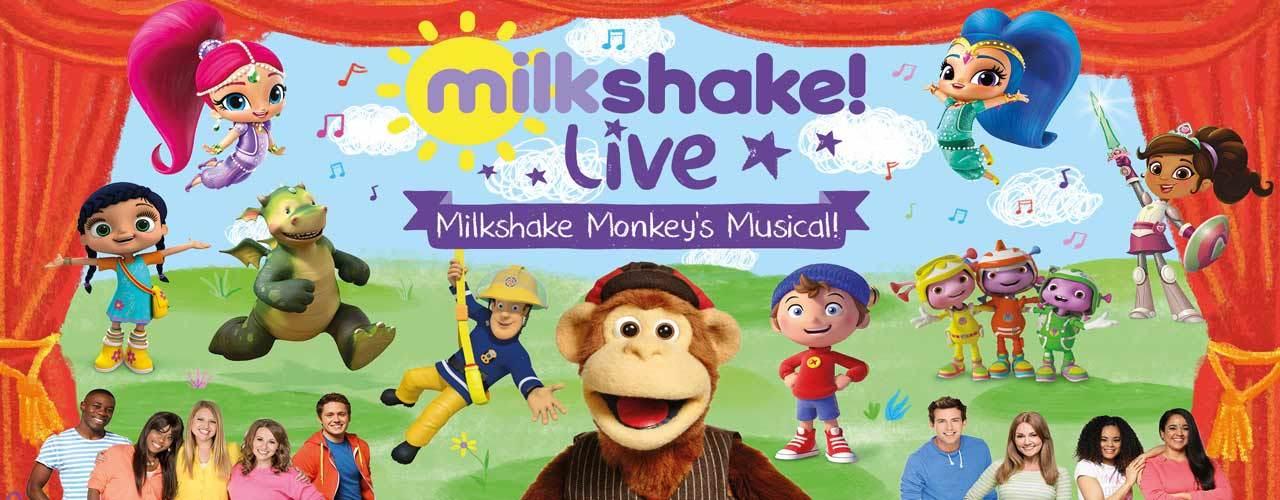 banner image for Milkshake Live - Milkshake Monkey's Musical