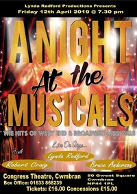 A Night at the Musicals Poster