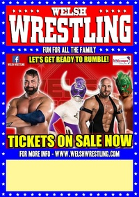 Welsh Wrestling 2019 Poster