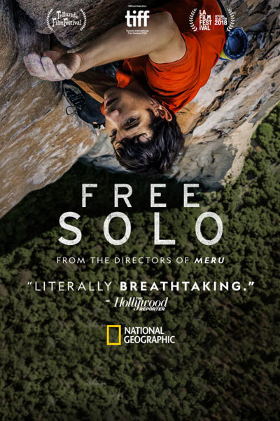 Free Solo (12A) at Torch Theatre