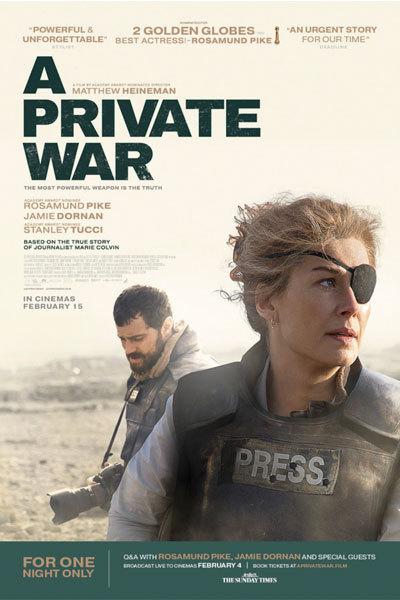 A Private War (15) at Torch Theatre