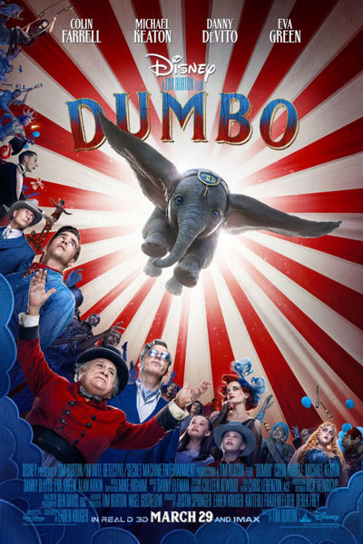 Dumbo (PG) 3D at Torch Theatre