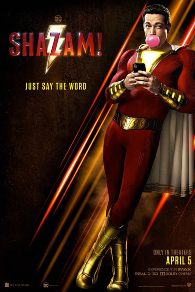 Shazam! (12A) 3D at Torch Theatre