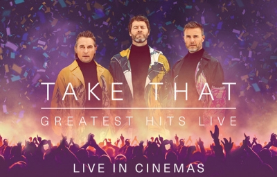 image of Take That Greatest Hits LIVE