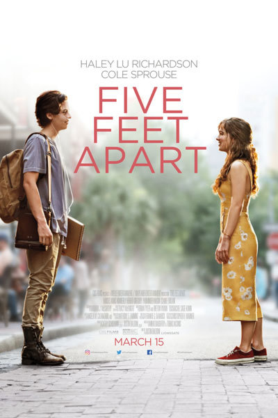 Five Feet Apart (12A) at Torch Theatre