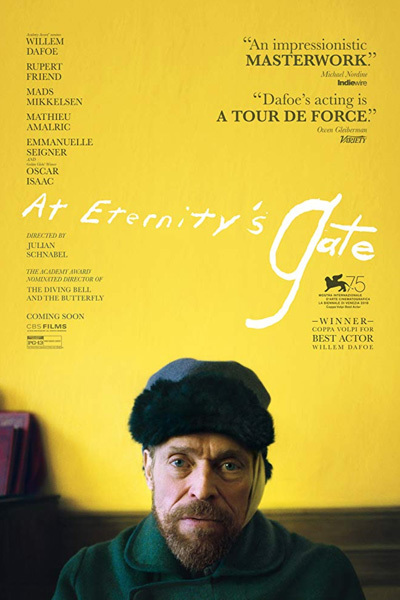 At Eternity's Gate (12A) at Torch Theatre