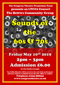 Sounds of the 60's & 70's Poster